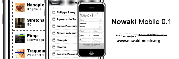 Nowaki Mobile version 0.1
